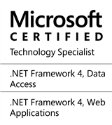 Microsoft Certified Technology Specialist: .NET Framework 4, Data Access, Web Applications